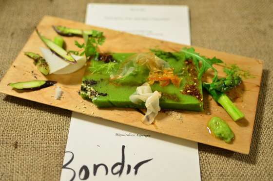 Food Opera: Four Asparagus Compositions; photos by Melissa Rivard & Andrew Janjigian